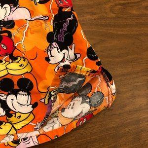 Disney Other - Disney Halloween Mickey Minnie Scrub Top